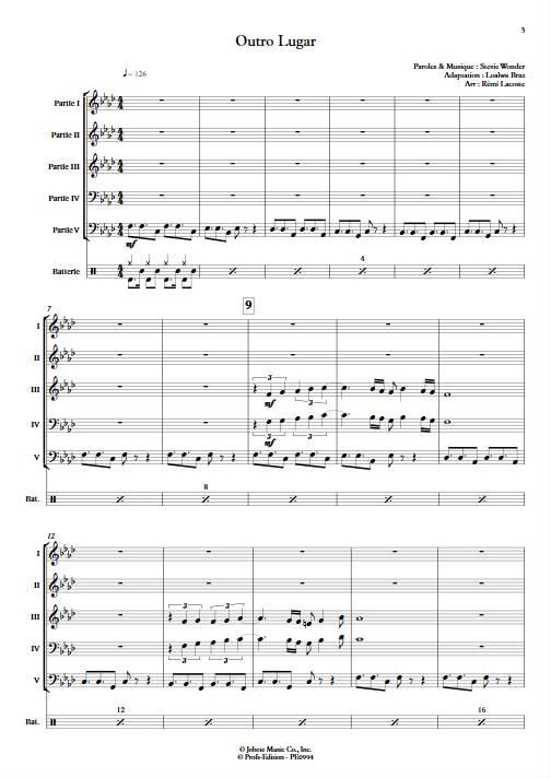 Outro lugar - Ensemble Variable - WONDER S. - app.scorescoreTitle