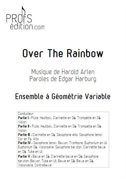 Over the rainbow - Ensemble Variable - ARLEN H. - front page