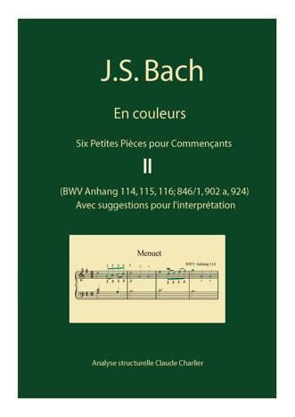 Bach en Couleurs (6 petites pièces) - Analyse Musicale - CHARLIER C. - front page