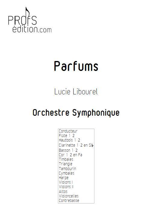 Parfums - Orchestre Symphonique - LIBOUREL L. - front page