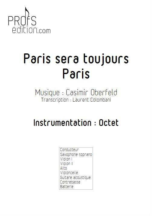 Paris sera toujours Paris - Octet - OBERFELD C. - front page