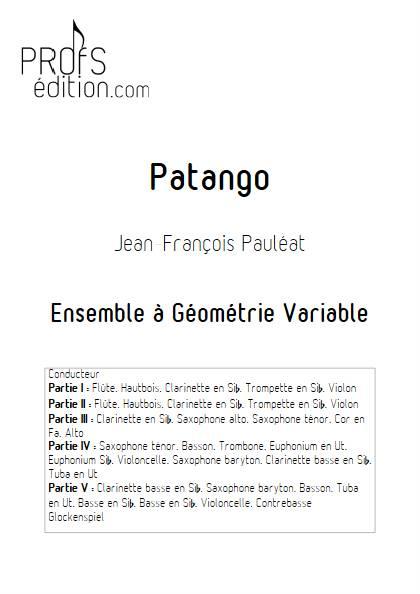 Patango - Ensemble Variable - PAULEAT J. F. - front page