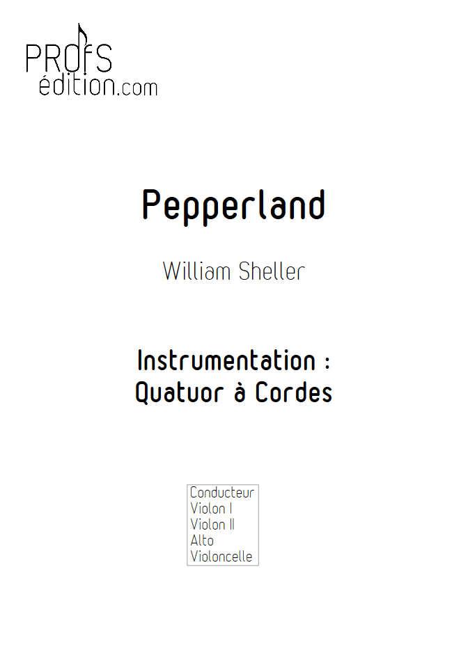 Pepperland - Quatuor à Cordes - SHELLER W. - front page