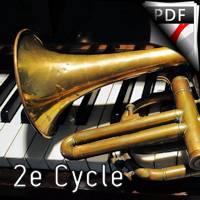 Petite pièce concertante - Trompette et Piano - BALAY G.