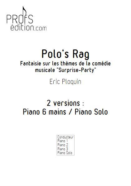 Polo's Rag - Piano 6 mains - PLOQUIN E. - front page