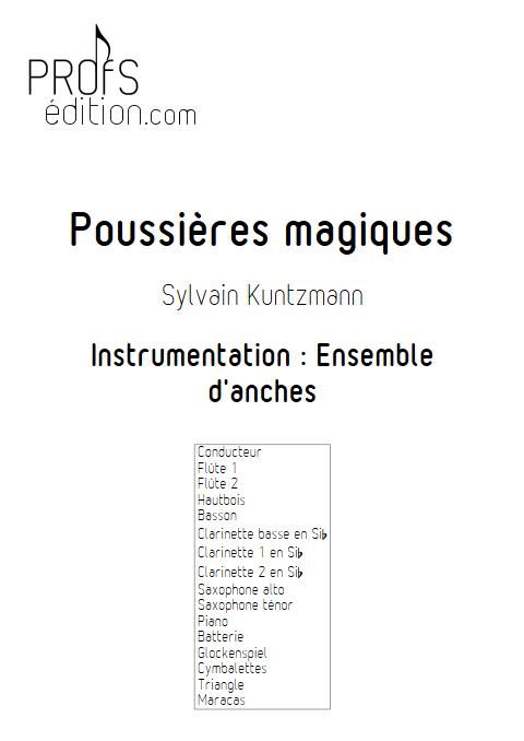 Poussières Magiques - Ensemble d'Anches - KUNTZMANN S. - front page