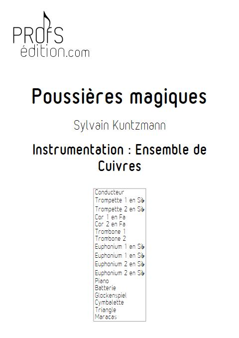 Poussières Magiques - Ensemble de Cuivres - KUNTZMANN S. - front page