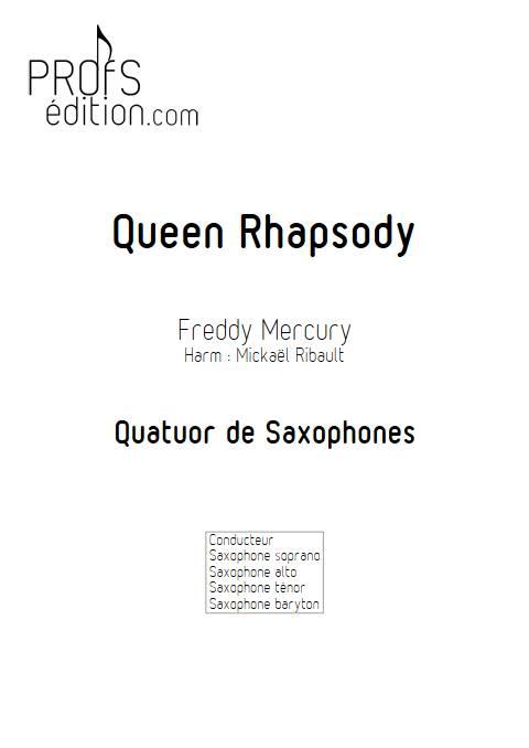 Queen Rhapsody - Quatuor de Saxophones - QUEEN - front page
