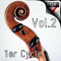 Quintes et Sens - Recueil 2 - Violon Piano - QUESSON M.