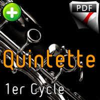Moonlight Serenade - Quintette de Clarinettes - MILLER G.