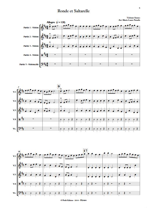 Ronde et Saltarelle - Ensemble à Géométrie Variable - SUSATO T. - app.scorescoreTitle