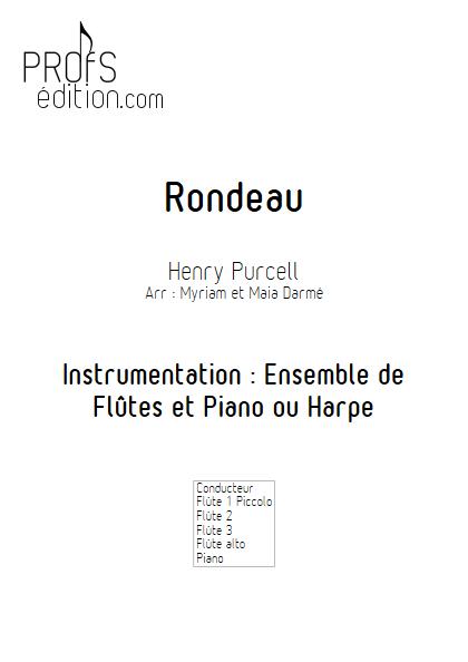 Rondeau - Ensemble de Flûtes - TRADITIONNEL - front page