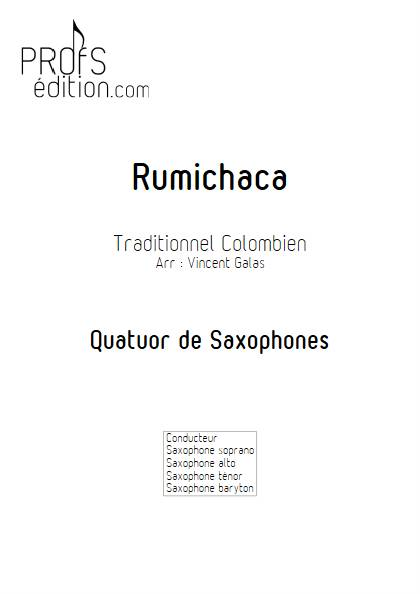 Rumichaca - Quatuor de Saxophones - TRADITIONNEL COLOMBIEN - front page