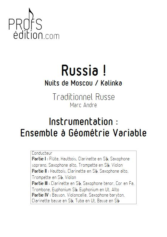 Russia - Ensemble Variable - TRADITIONNEL RUSSE - front page