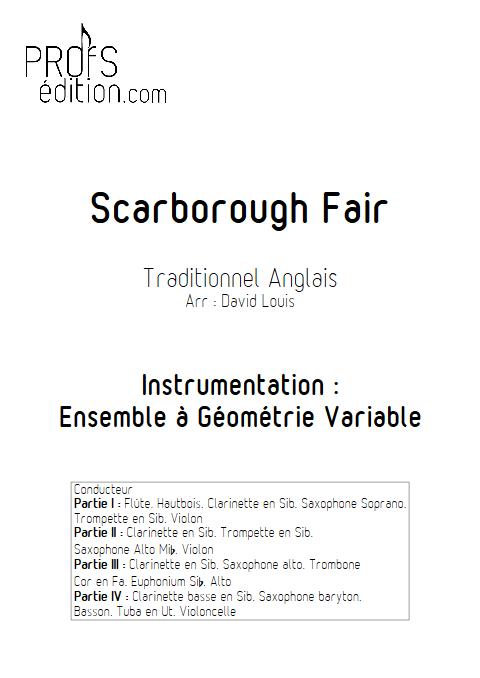 Scarborough Fair - Ensemble à Géométrie Variable - TRADITIONNEL - front page