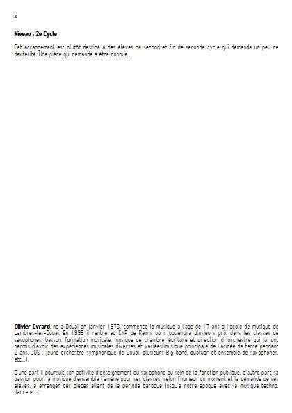 Scherzo - Ensemble de Saxophones - MENDELSSOHN F. - Educationnal sheet