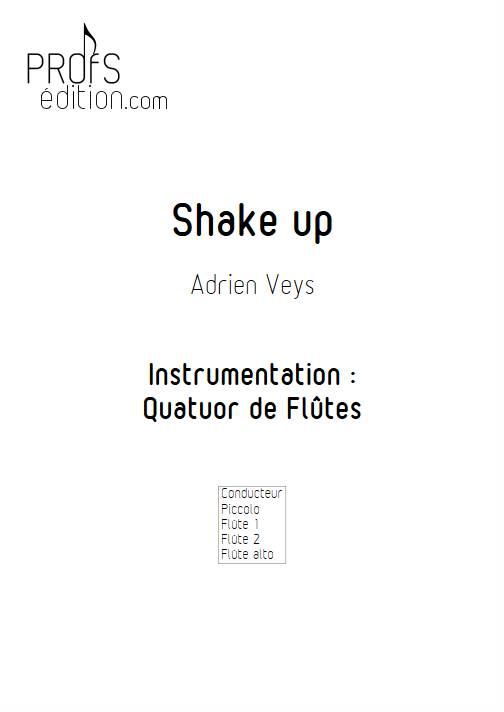 Shake Up - Quatuor de Flûtes - VEYS A. - front page