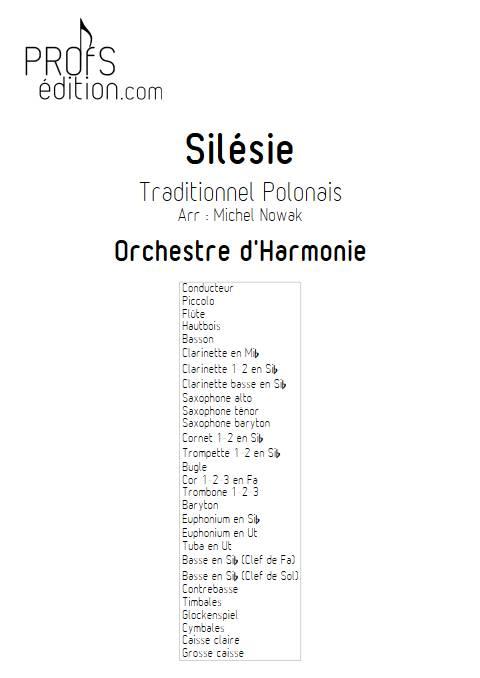 Silésie - Orchestre d'Harmonie - TRADITIONNEL POLONAIS - front page