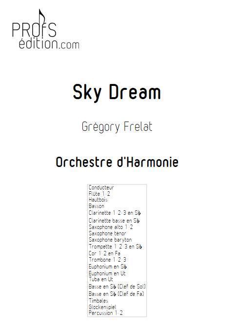 Sky Dream - Orchestre d'Harmonie - FRELAT G. - front page