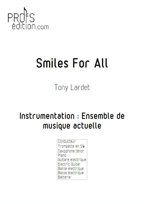 Smiles for All - Musique Actuelle - LARDET T. - front page