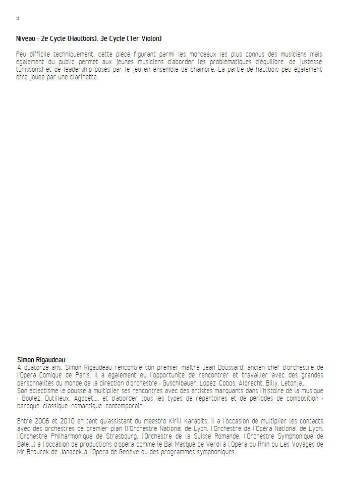 O Sole Mio - Hautbois et Quatuor à Cordes - Di CAPUA E. - Educationnal sheet