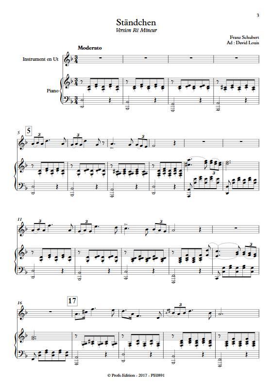 Ständchen - Piano/Instrument - SCHUBERT F. - app.scorescoreTitle