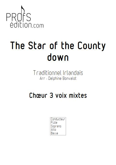 Star of the County Down - Chœur - TRADITIONNEL IRLANDAIS - front page