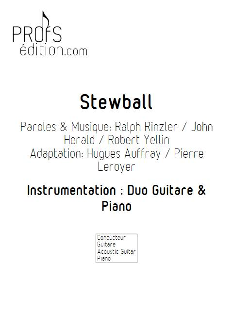 Stewball - Duo Guitare et Piano - AUFRAY H. BUREL Denis - front page