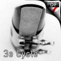 Petite Suite 2e Mouvement - Quintette de Clarintettes et Harmonie - NOWAK M.