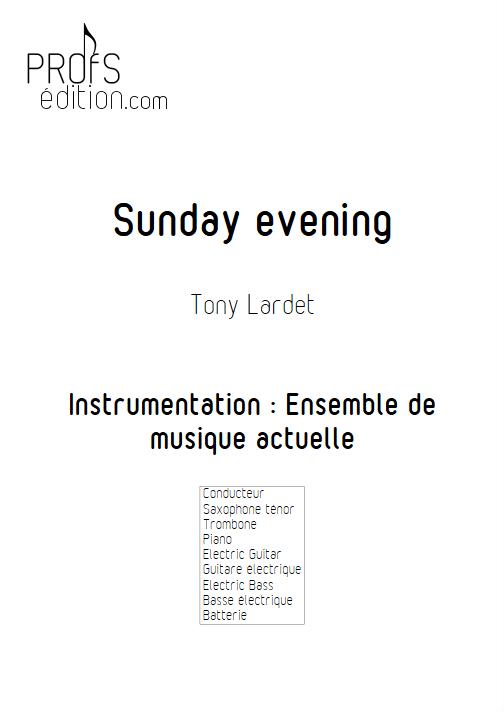 Sunday evening - Musique Actuelle - LARDET T. - front page