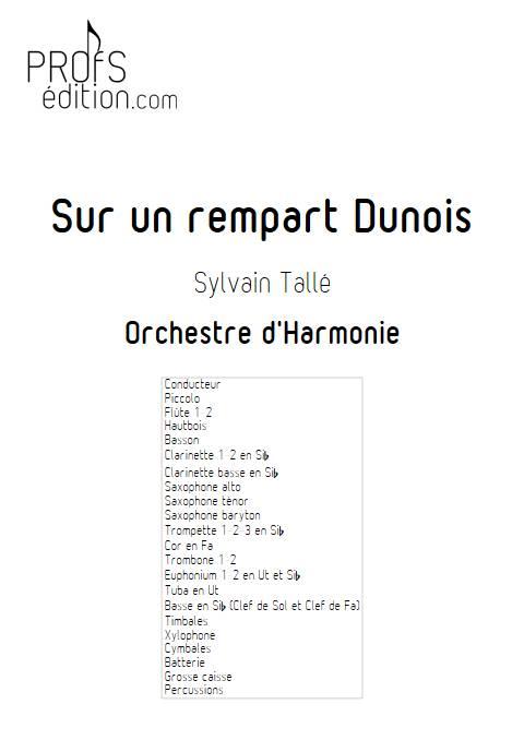 Sur un rempart Dunois - Orchestre d'harmonie - TALLE S. - front page