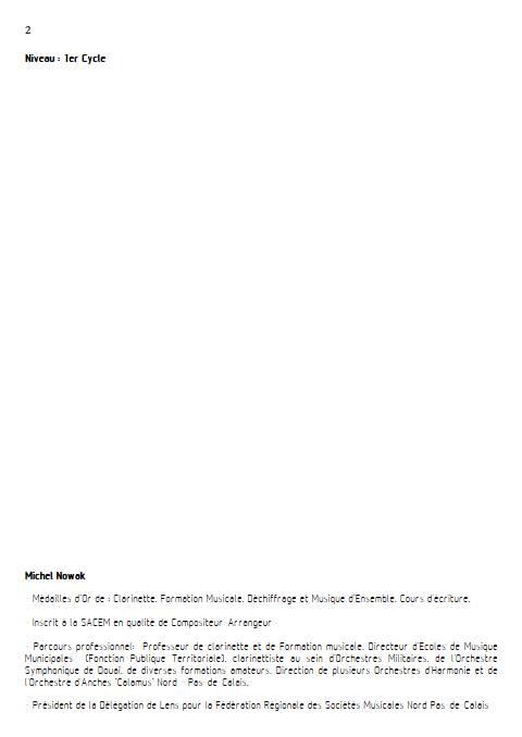 Swing Low Sweet Chariot - Quatuor de Clarinettes - WILLIS W. - Educationnal sheet