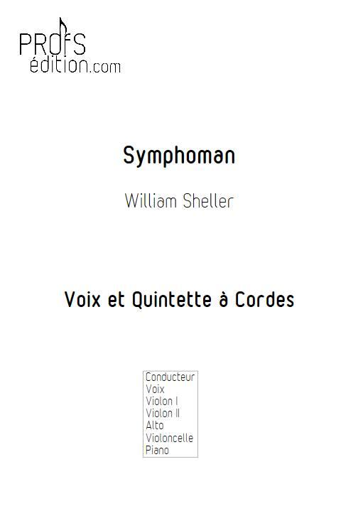 Symphoman - Chant et Quintette à Cordes - SHELLER W. - front page