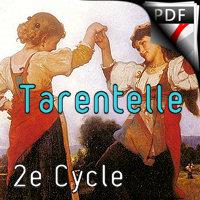 Tarentelle - Trio Violon Violoncelle Piano - MANCHOT P.