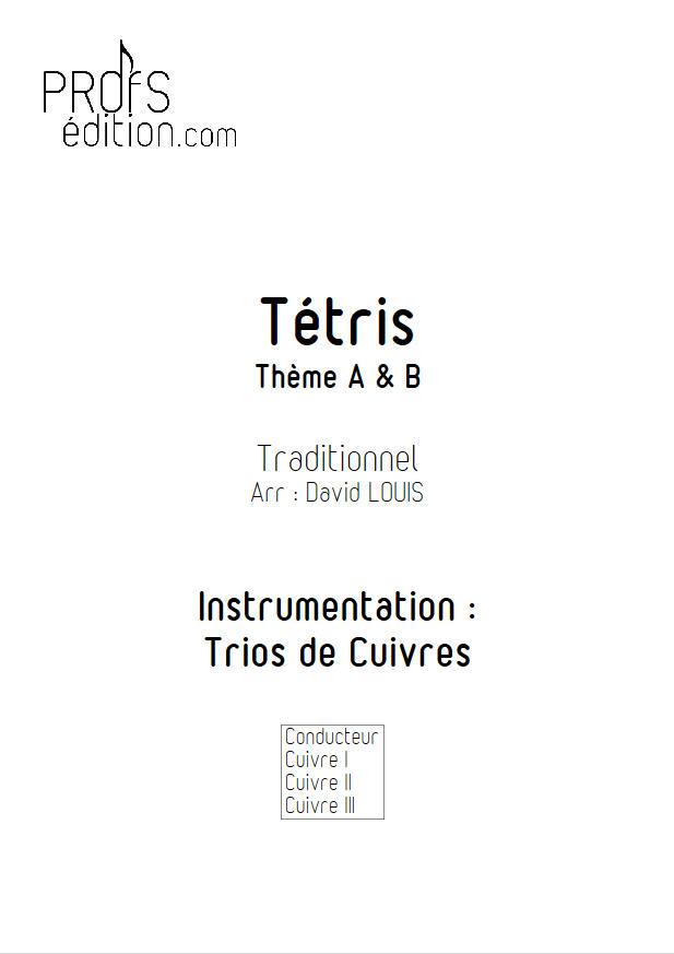 Tétris (2 thèmes) - Trio Cuivres - TRADITIONNEL RUSSE - front page