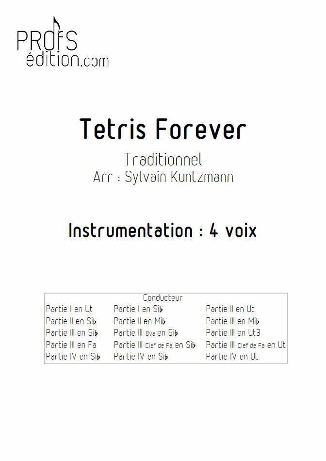 Tétris - Ensemble à géométrie Variable - TRADITIONNEL RUSSE - front page