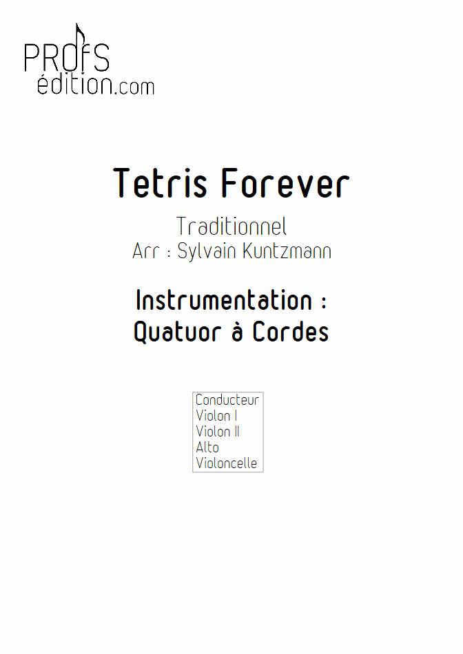 Tétris - Quatuor à Cordes - TRADITIONNEL RUSSE - front page