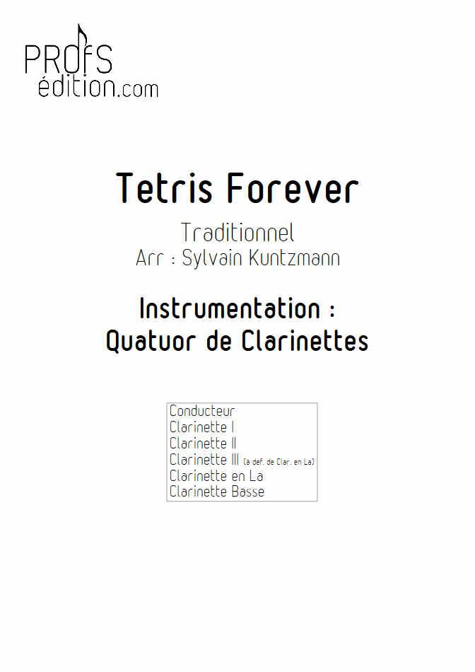 Tétris - Quatuor de Clarinettes - TRADITIONNEL RUSSE - front page