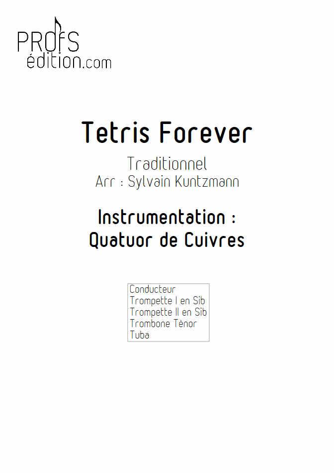 Tétris - Quatuor de Cuivres - TRADITIONNEL RUSSE - front page