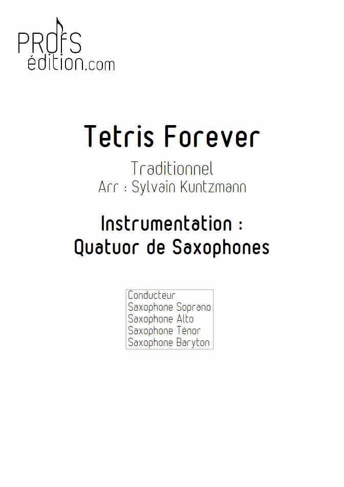 Tétris - Quatuor de Saxophones - TRADITIONNEL RUSSE - front page