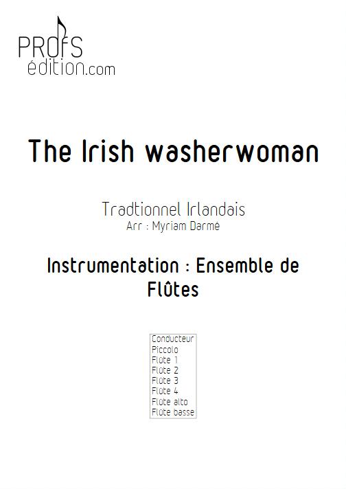 The Irish washerwoman - Ensemble de Flûtes - TRADITIONNEL IRLANDAIS - front page