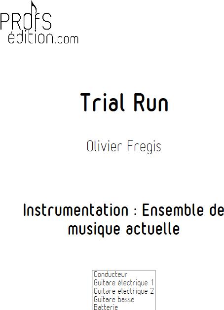 Trial Run - Ensemble de Musiques Actuelles - FREGIS O. - front page