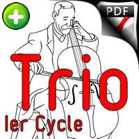 A la claire Fontaine - Trio Violoncelles - TRADITIONNEL