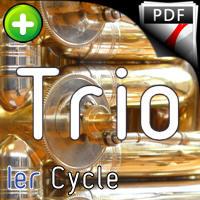 12 Trios pour Tubas - Trio Tubas - TRADITIONNEL
