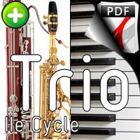 Czardas Barocco - Trio Saxophone Basson Piano - GUILLONNEAU C.