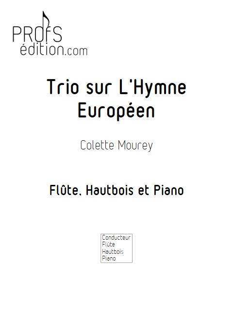 Trio sur l'Hymne Européen - Trio Flûte Hautbois Piano - BEETHOVEN L. V. - front page