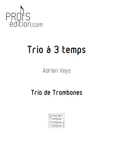 Trio à trois temps - Trio de Trombones - VEYS A. - front page