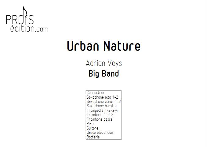 Urban Nature - Big Band - VEYS A. - front page