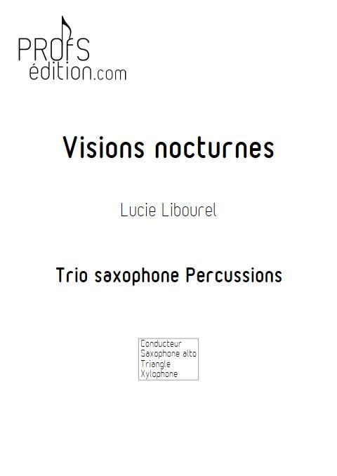 Visions nocturnes - Trio - LIBOUREL L. - front page