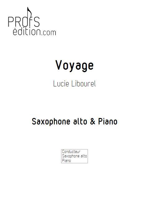 Voyage - Duo Saxophone Piano - LIBOUREL L. - front page